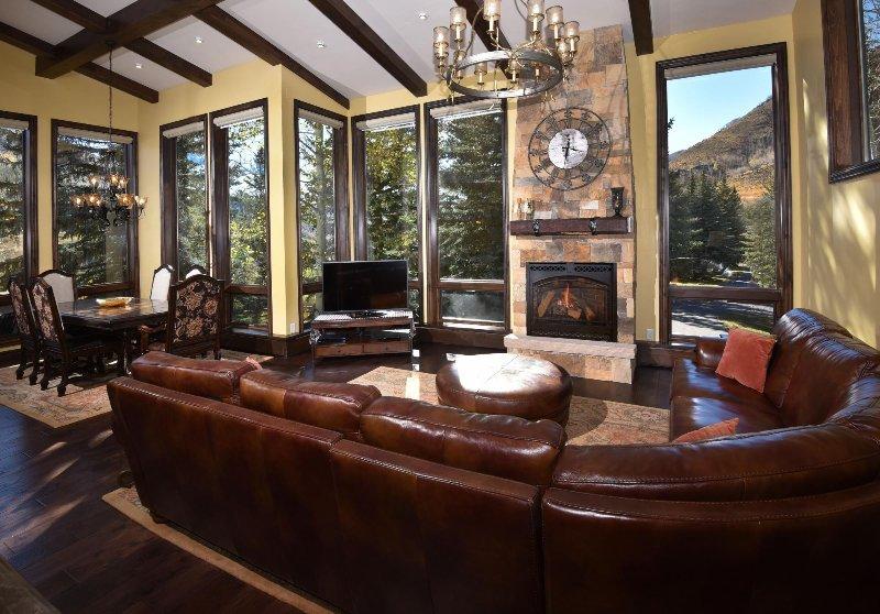 "SkyRun Property - ""Potato Patch Club"" - Living Room - Potato Patch Club - Vail - rentals"