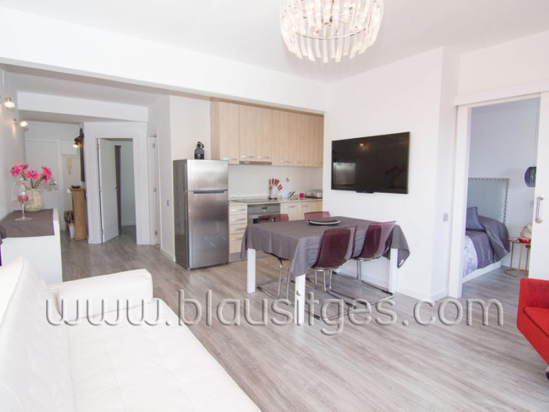 Luxury apartment with pool in Sitges. - Image 1 - Sitges - rentals