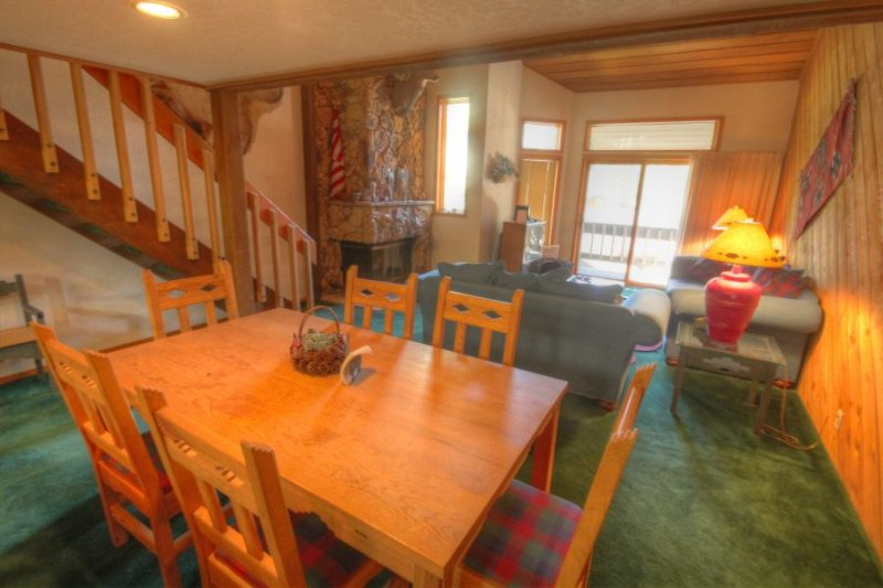 Dinning room and living room - - 187 Ridgepoint - Beaver Creek Village - Beaver Creek - rentals
