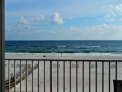View from the Living Room - 3 Bed/ 3 Bath Ocean Front Condo - Gulf Shores - Gulf Shores - rentals