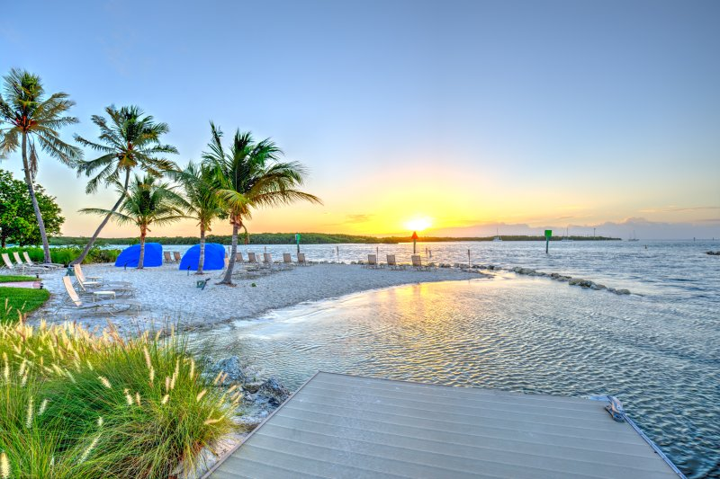 Enjoy the sunrise on our private, oceanfront beach  - Key West Harbour Oceanfront Suites - Key West - rentals