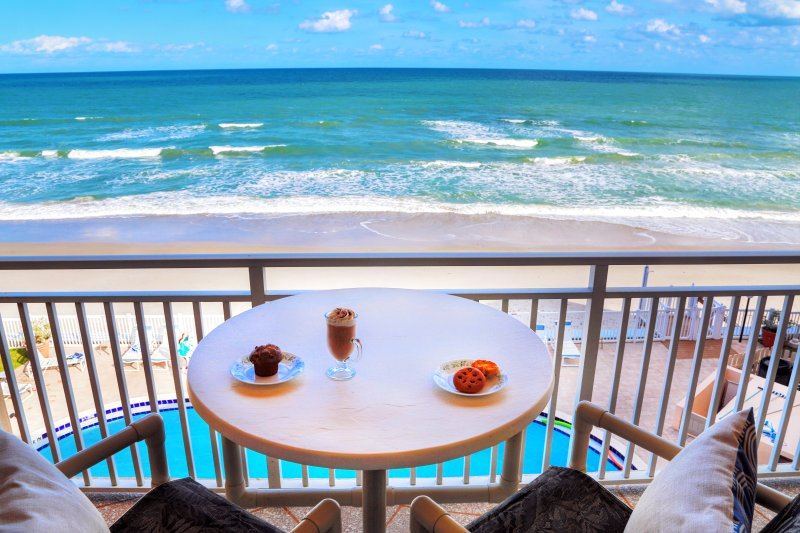 Million $ direct oceanfront view! Walkout from the living room & master bedroom! - Penthouse Ocean Front!   Million$ View & Brand New! - Satellite Beach - rentals
