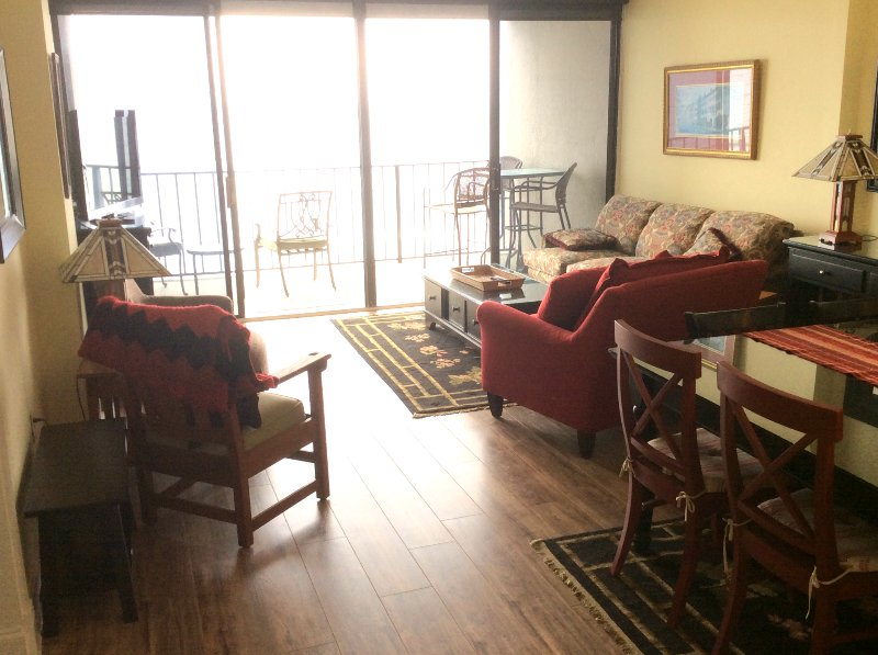 Living Area - Desirable Oceanfront Vacation Condo_ Myrtle Beach_Updated February 2017 - Myrtle Beach - rentals