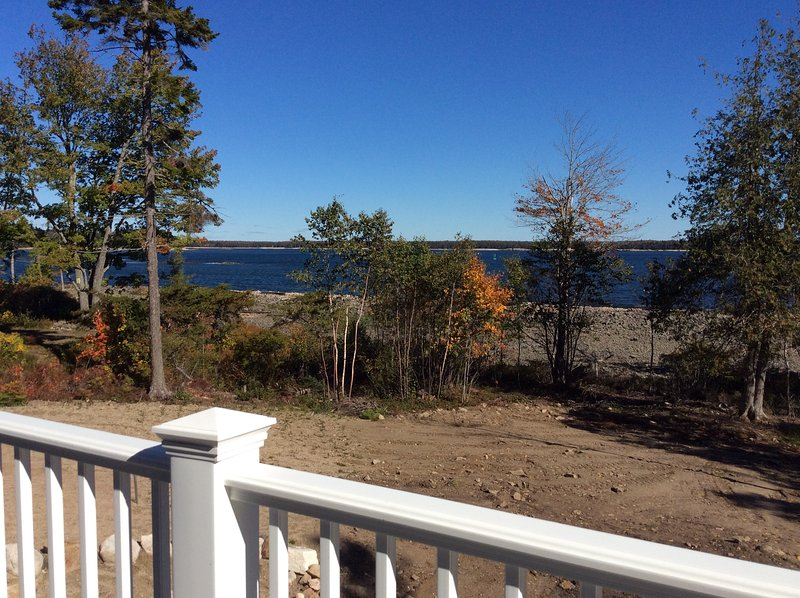 A beautiful tranquil view from the deck - HOLLiday House - Prospect Harbor - rentals