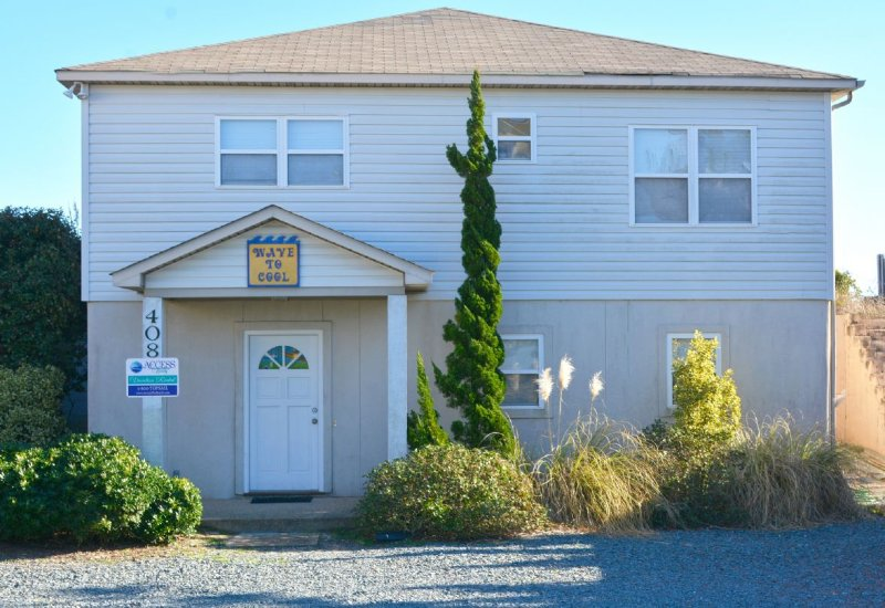 Front Side of Home - Wave To Cool - Surf City - rentals