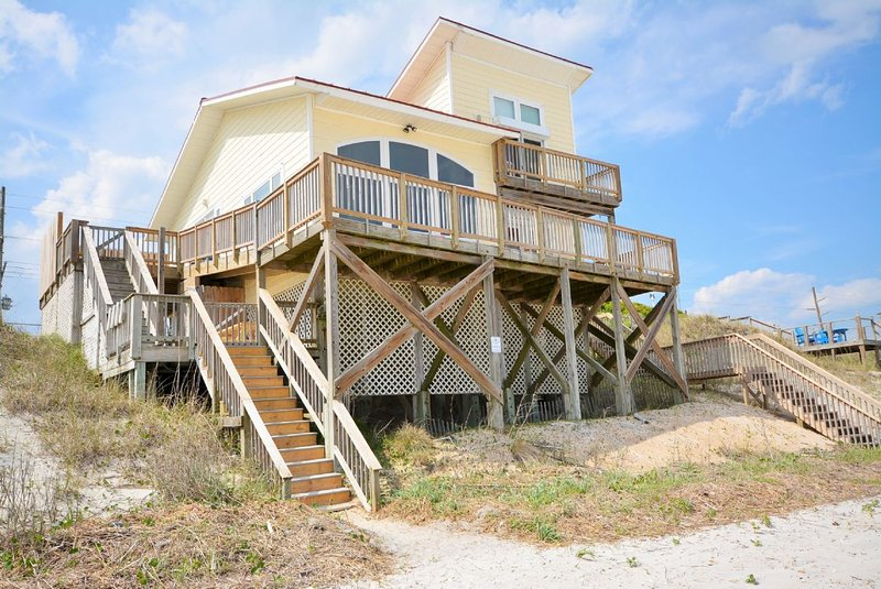 Home from Beach Side - Livin' on the Edge - Topsail Beach - rentals
