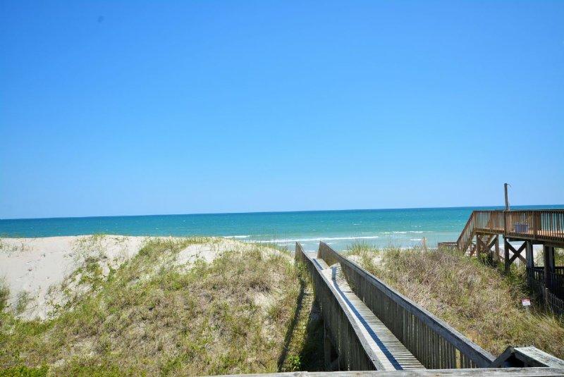 Private Beach Access - Almost Heaven North - North Topsail Beach - rentals