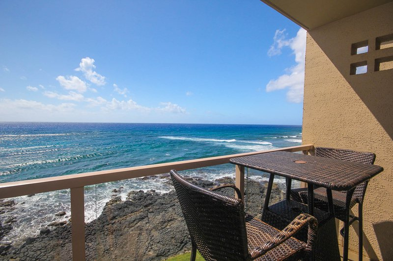 Kuhio Shores 416-4th floor condo, ocean and sunset views with FREE mid-size car. - Image 1 - Koloa - rentals