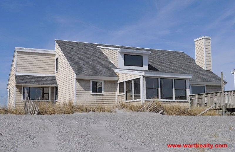 Oceanfront Exterior - Almost Heaven - North Topsail Beach - rentals