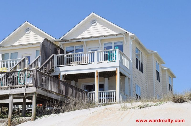 Oceanfront Exterior - Beach Baby - Surf City - rentals
