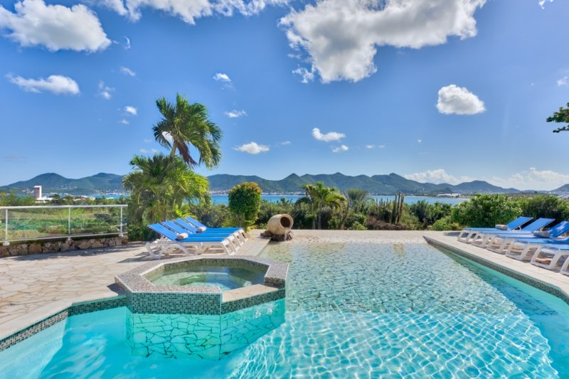 La Siesta at Terres Basses, Saint Maarten - Ocean View, Large Pool, Short Walk - Image 1 - Terres Basses - rentals