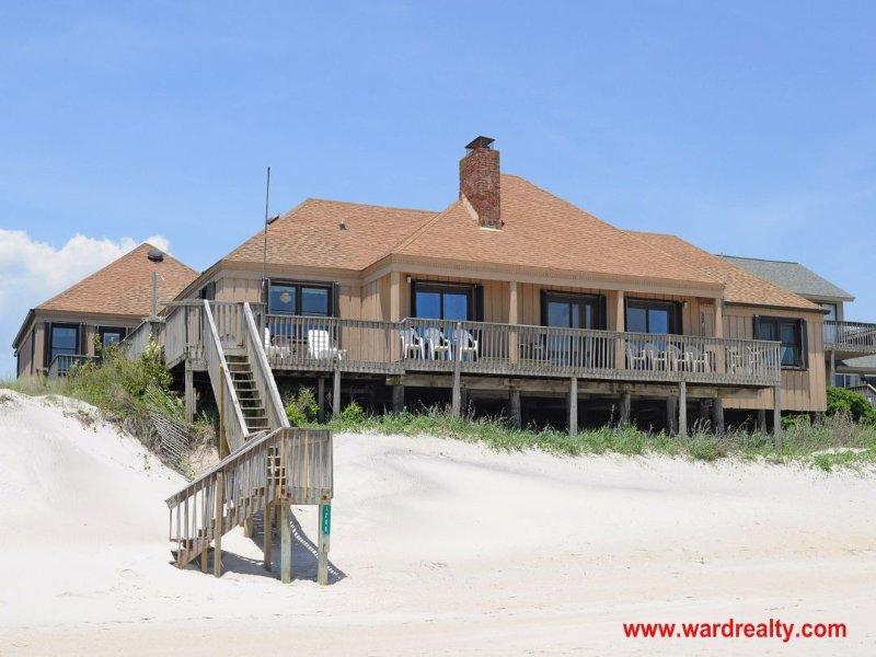 Oceanfront Exterior - Sandy Toes - Surf City - rentals