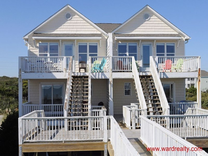 Oceanfront Exterior - 2 Britt Buoys - Surf City - rentals