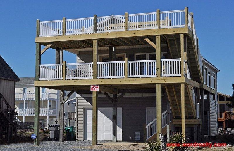 2nd Wind Exterior - 2nd Wind - Surf City - rentals