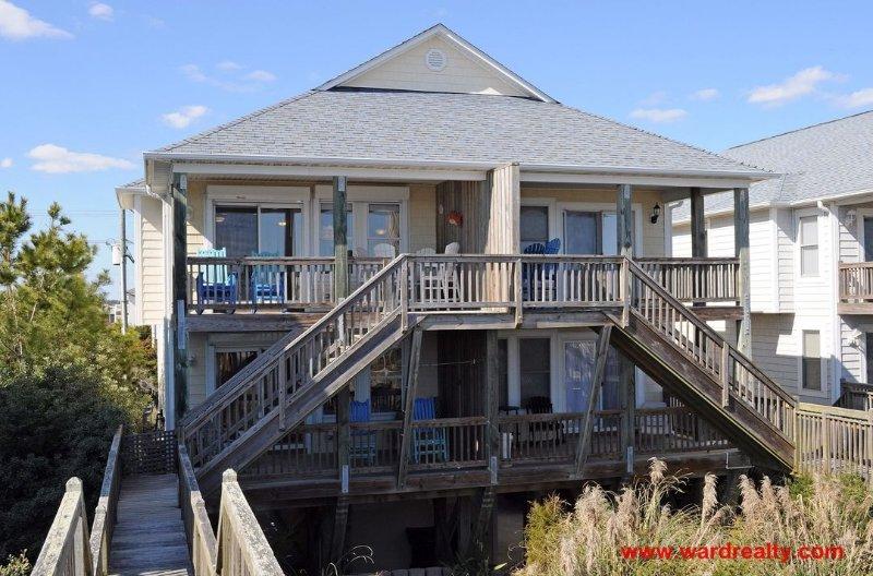 Next-ta-Sea Oceanfront Exterior - Next ta Sea - Topsail Beach - rentals