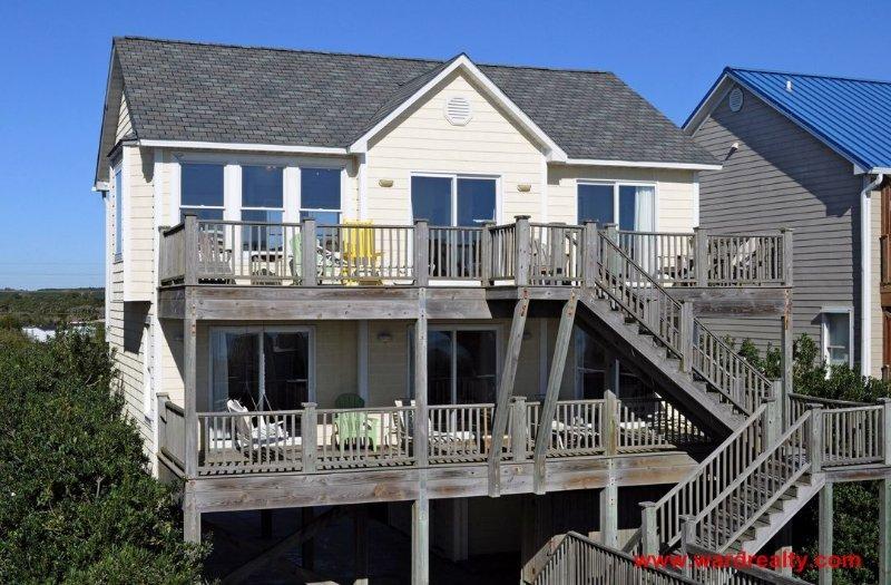 Oceanfront Exterior - Al Mare Bellisimo - Surf City - rentals