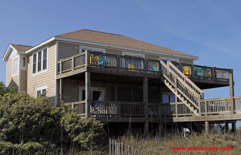 Baby Girl Oceanfront Exterior - Baby Girl - North Topsail Beach - rentals