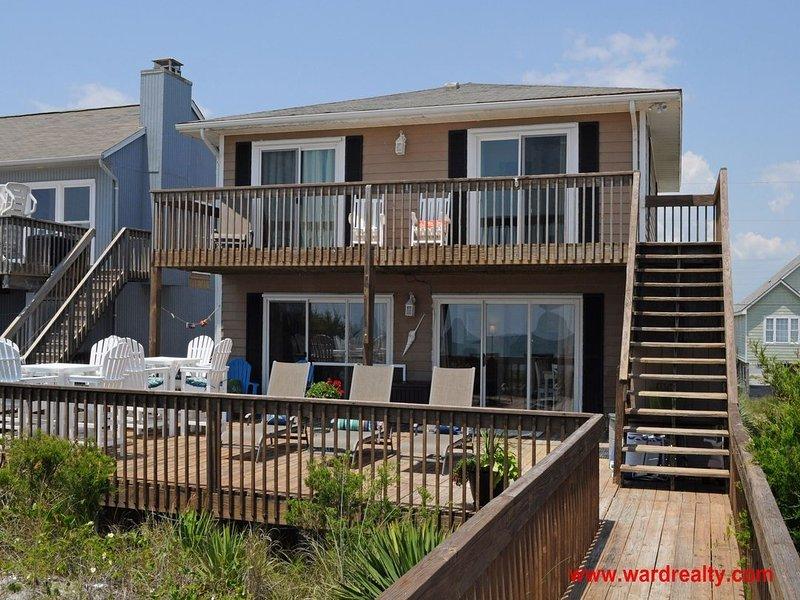 Sea La Vie Oceanfront Exterior - Sea La Vie - Topsail Beach - rentals