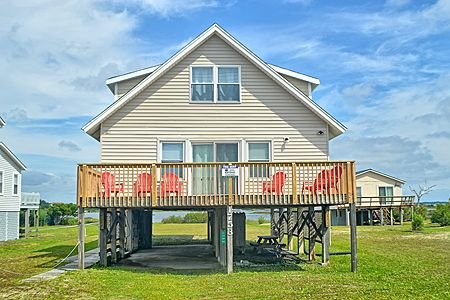 East End Street View - 'East End - North Topsail Beach - rentals