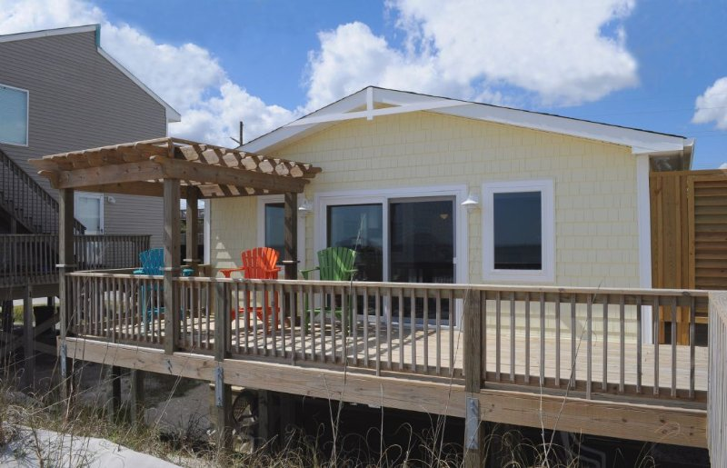 Wholly Mackerel Oceanfront Exterior - Wholly Mackerel - Surf City - rentals