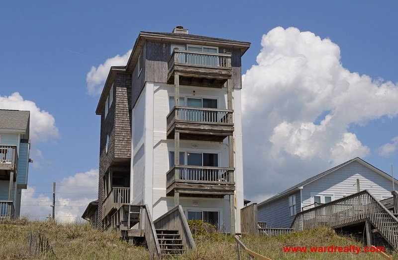 Oceanfront Exterior - Tower 5 Cabana - Surf City - rentals