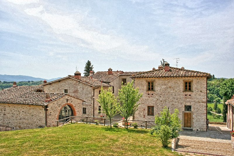 Ancient Hamlet in Tuscany near Florence - Rustici Estate - Image 1 - Grassina Ponte a Ema - rentals