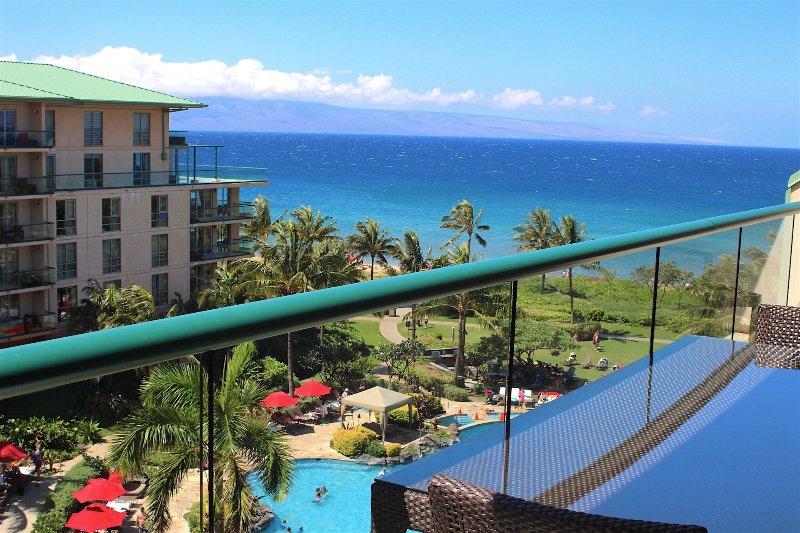 Hokulani 649--This is why they call it a Lanai! - Maui Resort Rentals: Honua Kai Hokulani 649 - Upgraded 6th Floor 2BR, Fantastic - Lahaina - rentals