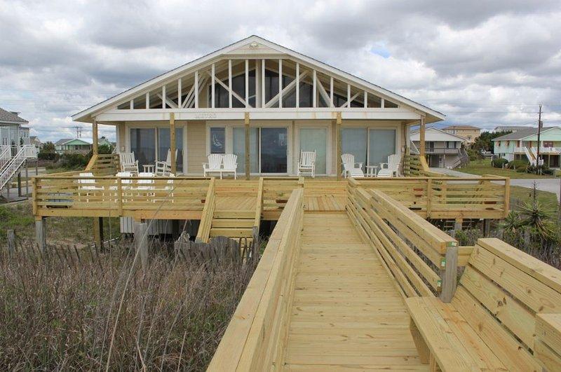 Exterior Oceanfront - Metro - Emerald Isle - rentals