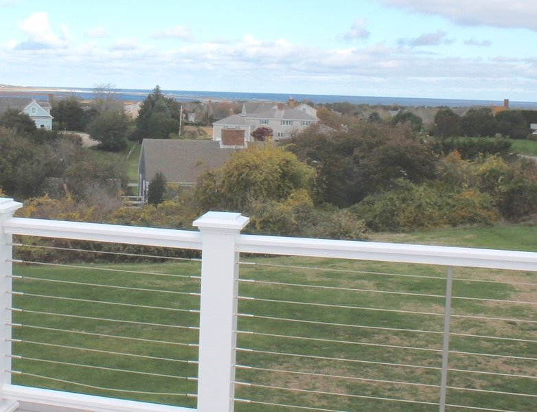 Soak in the panoramic views of the Atlantic from the new second level deck. - Upgraded & upscale near Nauset Beach, Linens:006-O - Orleans - rentals