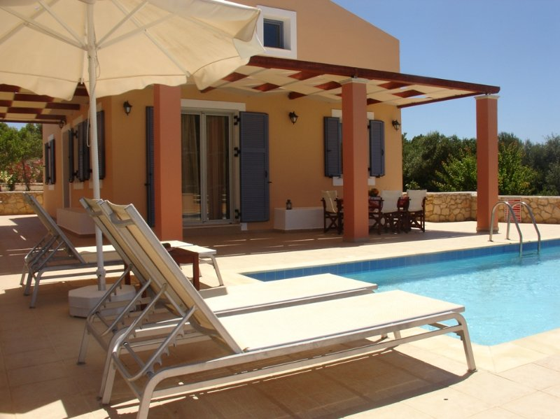 Private Villa with Pool - Antigoni Beach House - Kounopetra - rentals