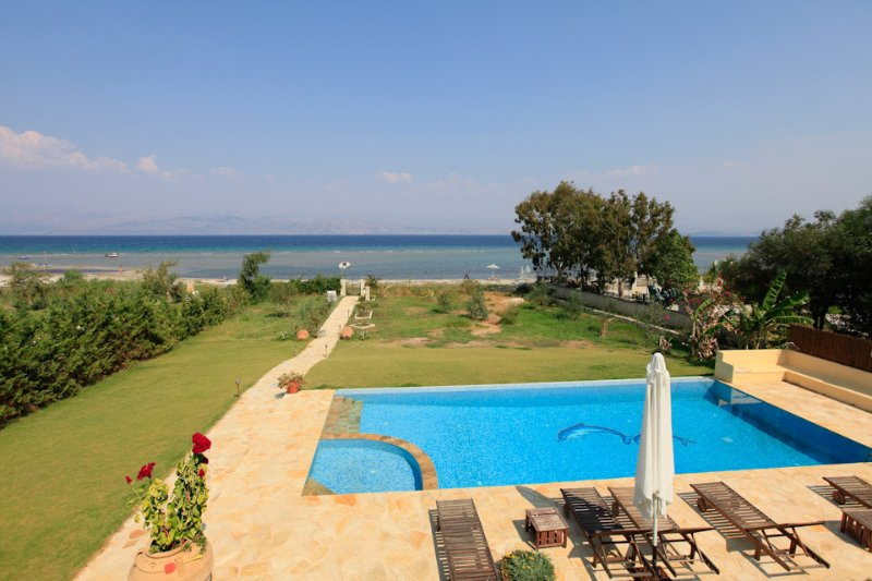 Villa With Private Pool and Sea Views - The Beach House - Kassiopi - rentals