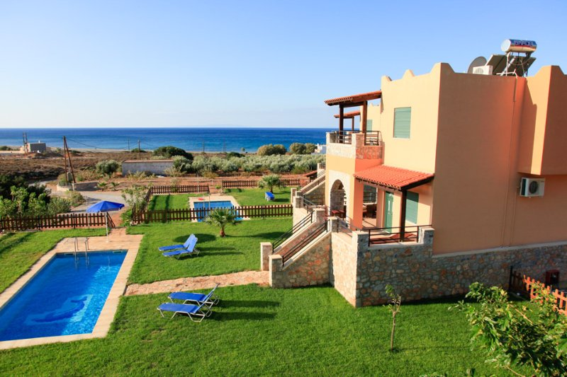 Villa With Private Pool and a Few Steps Away from the Beach - Andreas Beach Villa - Fragkokastello - rentals