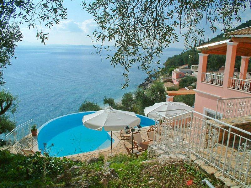 Villa With Infinity Pool and Sea Views - Villa Petros - Nissaki - rentals