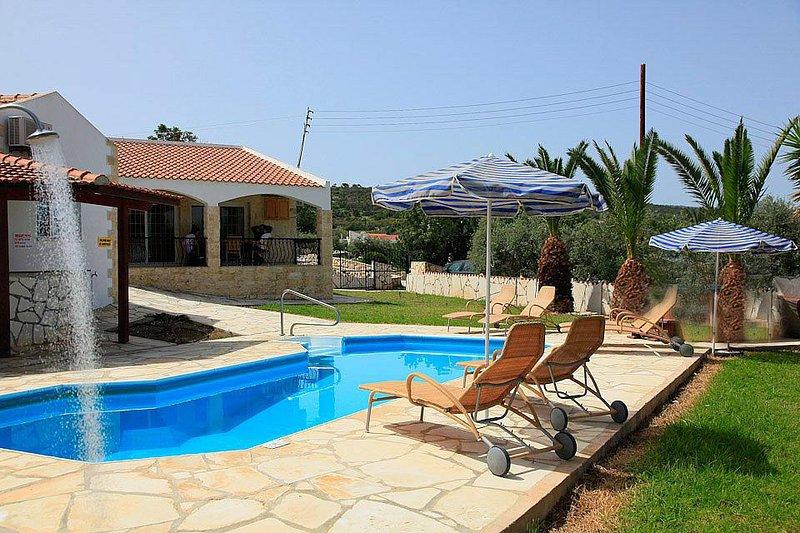 Villa With Private Pool and Garden - Villa Sotiris - Neo Chorion - rentals