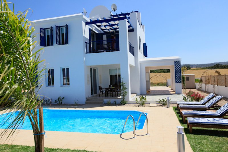Villa With Private Pool and Sea Views - Riviera Beach Front - Latchi - rentals