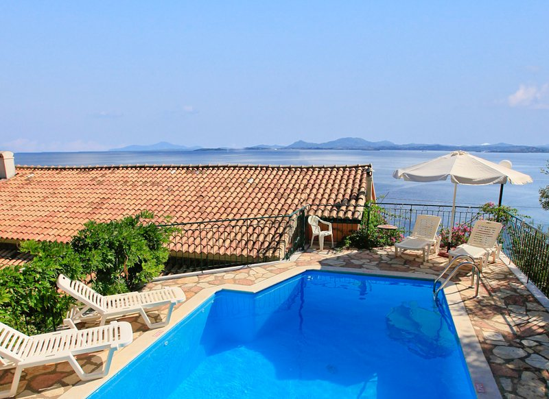 Villa With Private Pool and Sea Views - Villa Calypso - Nissaki - rentals