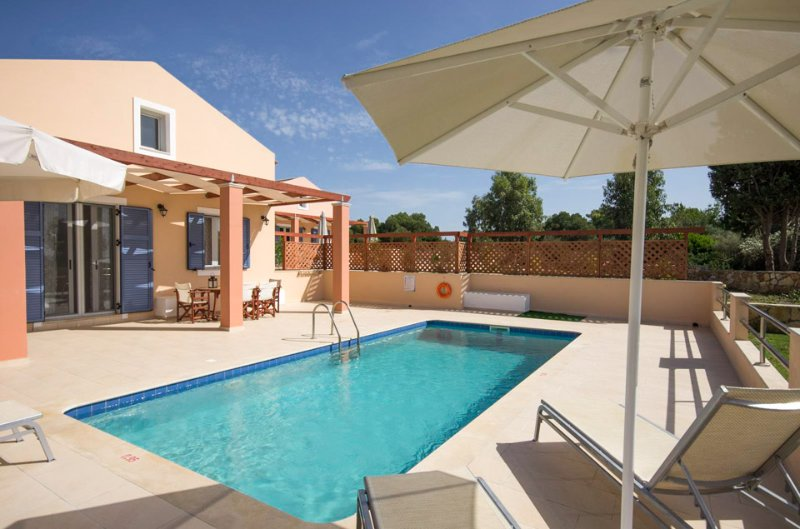 Private Villa with Pool - Nafsika Beach House - Kounopetra - rentals