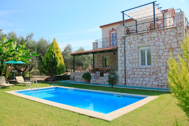 Villa With Private Pool and Garden - Villa Dimitris - Kalyves - rentals