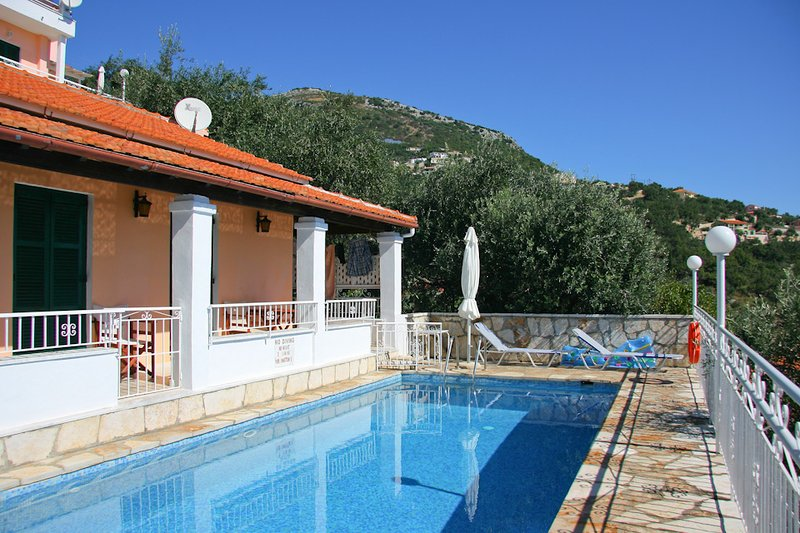 Villa With Private Pool and Sea Views - Villa Elia - Nissaki - rentals
