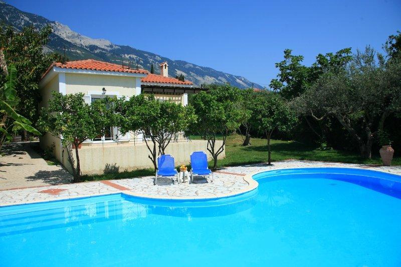 Private Villa with Pool - Villa Russa Dionisis - Vlachata - rentals