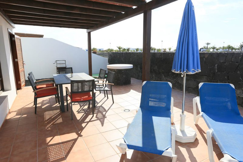 Outside Seating - Villa Pepe - Playa Blanca - rentals