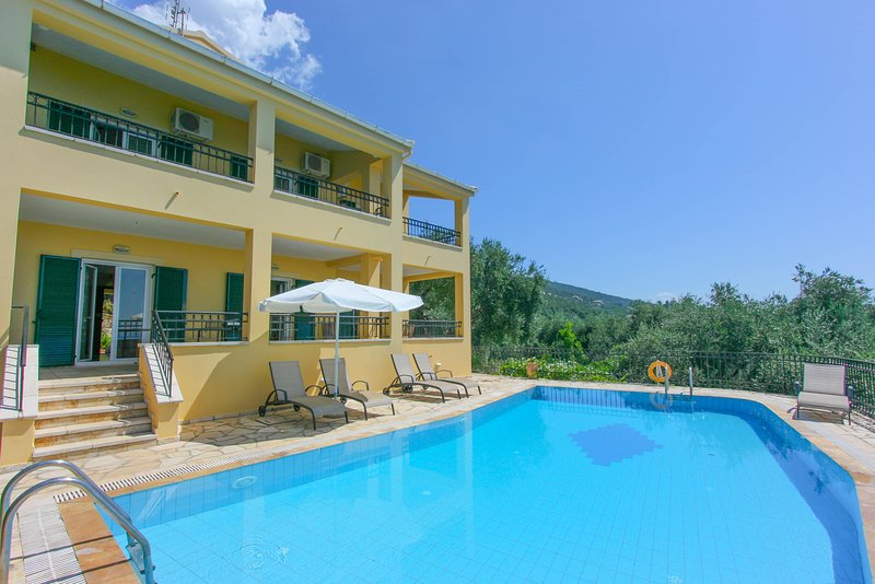 Villa With Private Pool and Sea Views - Villa Spyros - Nissaki - rentals