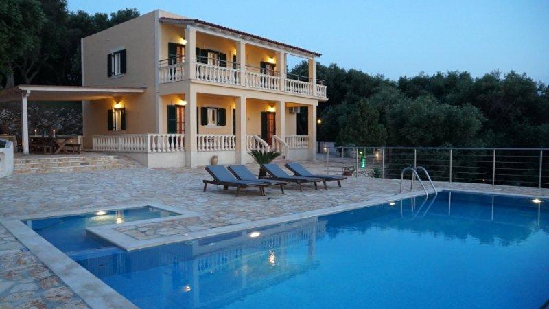 Villa With Infinity Pool and Sea Views - Villa Seasun - Acharavi - rentals