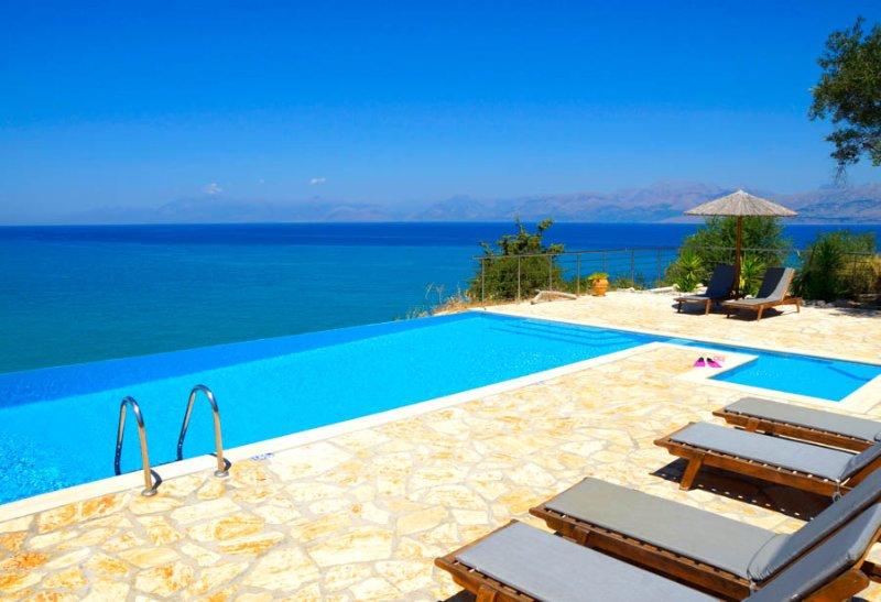 Beautiful Views Over Looking The Sea - Villa Seasun - Acharavi - rentals