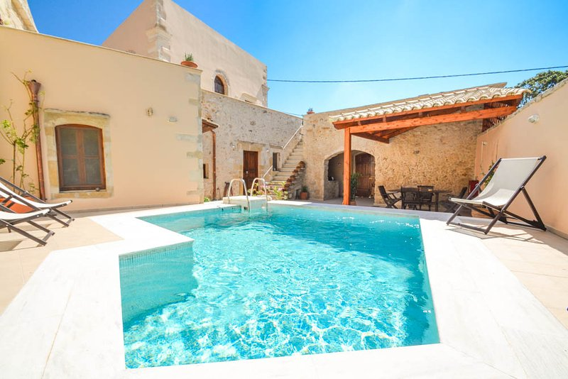 Villa With Private Pool - Archontiko Galliaki - Kastellos - rentals