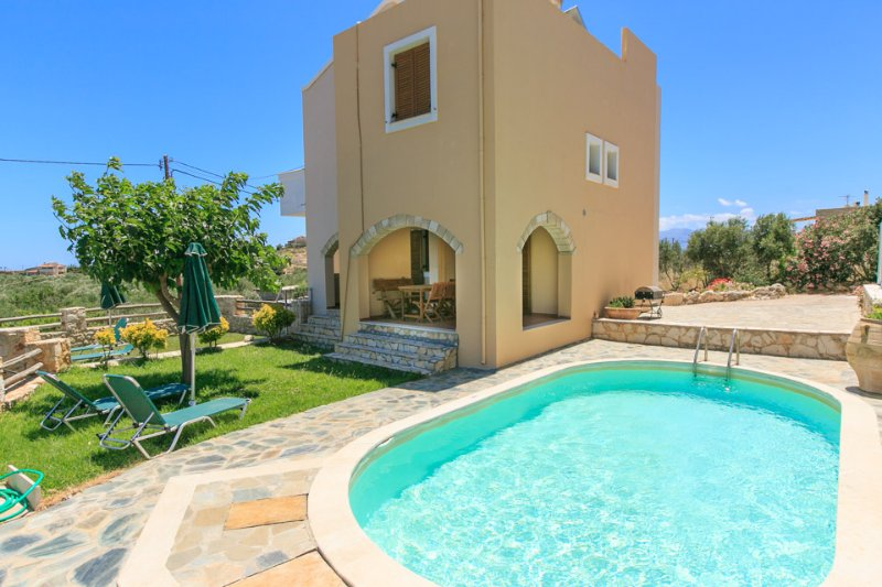 Villa With Private Pool and Garden - Villa Neria - Aptera - rentals