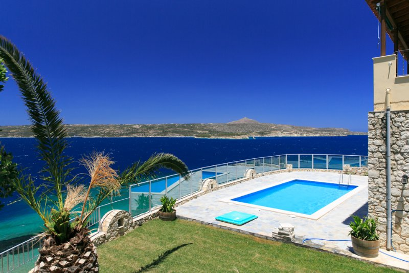 Villa With Private Pool and Sea Views - Souda Bay View - Kalami - rentals