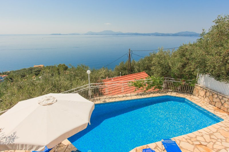 Pool With Amazing Sea Views - Villa Amalia - Nissaki - rentals