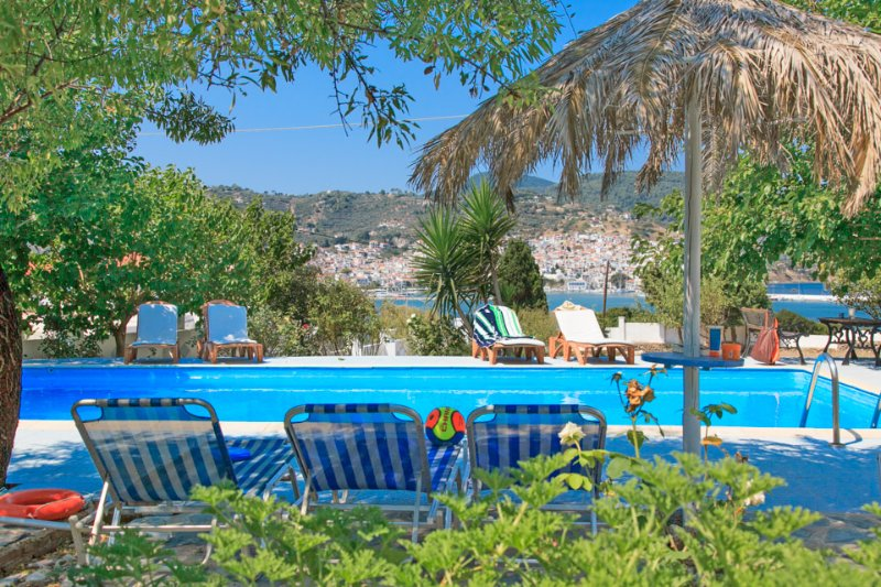 Swimming Pool - Villa Karavos - Potami - rentals