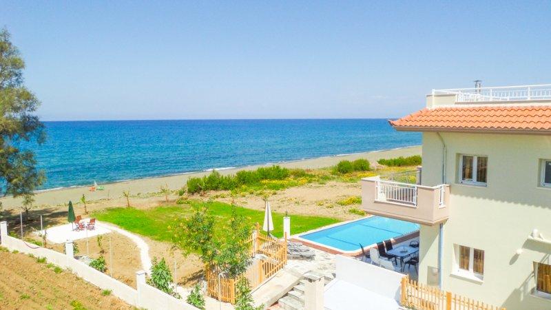 Villa With Private Pool and Sea Views - Kalisto Beach Villa - Nea Dimmata - rentals